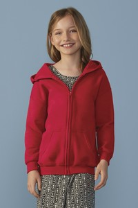 Gildan® Heavy Blend™ Full Zip Hooded Youth Sweatshirt