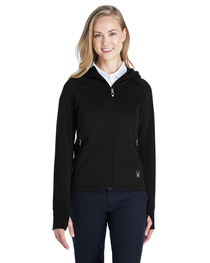 Spyder Ladies' Hayer Full-Zip Fleece Hoody