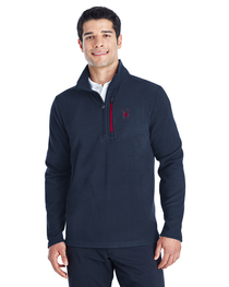 Spyder Men's Transport Quarter-Zip Fleece Pullover