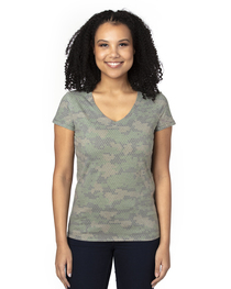 Threadfast Ladies' Ultimate V-Neck T-Shirt