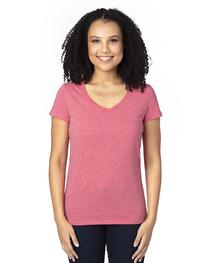 Threadfast Ladies' Ultimate Short-Sleeve V-Neck T-Shirt