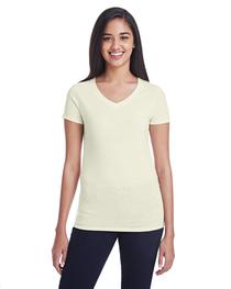 Threadfast Ladies' Triblend Short-Sleeve V-Neck T-Shirt