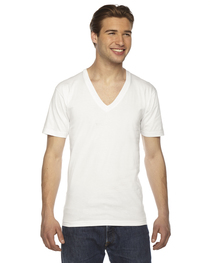 American Apparel Unisex Fine Short-Sleeve V-Neck T-Shirt
