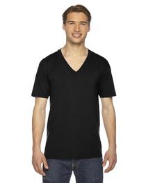 American Apparel Unisex Fine Short-Sleeve V-Neck T-Shirt