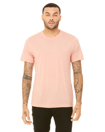 Bella Unisex Heather CVC Short-Sleeve T-Shirt