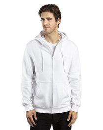 Threadfast Unisex Ultimate Fleece Full-Zip Hooded Sweatshirt