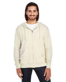 Threadfast Unisex Triblend French Terry Full-Zip