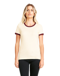 Next Level Ladies' Ringer T-Shirt