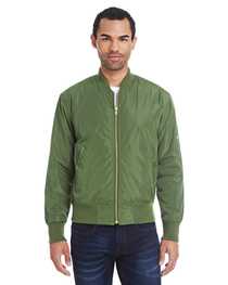 Threadfast Unisex Bomber Jacket