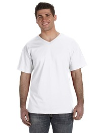 Fruit of the Loom Adult 8.3 oz./lin. yd. HD Cotton™ V-Neck T