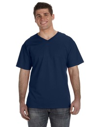 Fruit of the Loom Adult 5 oz. HD Cotton™ V-Neck T-Shirt