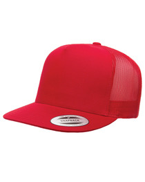 Yupoong Adult 5-Panel Trucker Cap