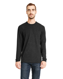 Next Level Unisex Sueded Long-Sleeve Crew
