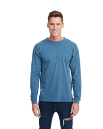 Next Level Adult Inspired Dye Long-Sleeve Crew