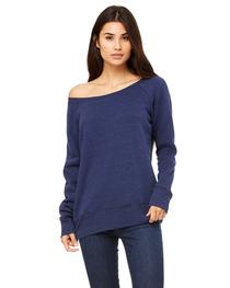 Bella Ladies' Sponge Fleece Wide Neck Sweatshirt