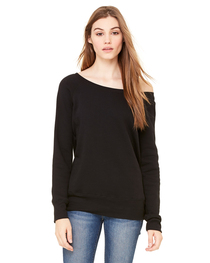 Bella Ladies' Sponge Fleece Wide Neck Sweatshirt