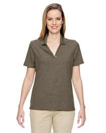 North End Ladies' Excursion Nomad Performance Waffle Polo