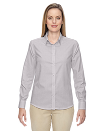 North End Ladies' Wrinkle-Resistant Cotton Blend Shirt