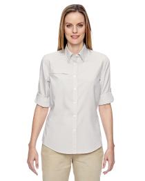 North End Ladies' F.B.C. Textured Shirt