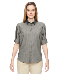 North End Ladies' F.B.C. Textured Shirt
