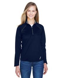 North End Ladies' Radar Quarter-Zip Long-Sleeve Top