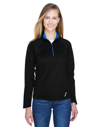 North End Ladies' Radar Quarter-Zip Long-Sleeve Top