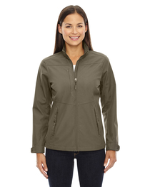 North End Ladies' Forecast Travel Soft Shell Jacket