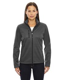 North End Ladies' Trace Printed Fleece Jacket