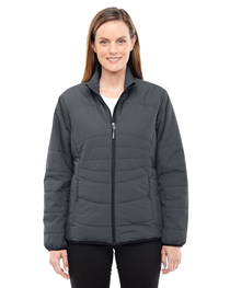 North End Ladies' Resolve Insulated Packable Jacket