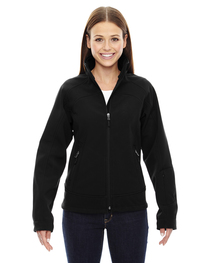 North End Ladies' Three-Layer Light Bonded Soft Shell Jacket