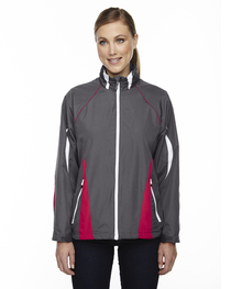North End Ladies' Impact Active Lite Colorblock Jacket