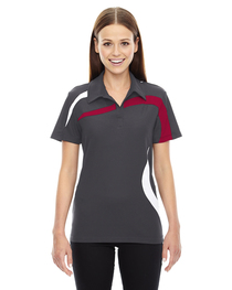 North End Ladies' Impact Polyester Piqué Polo