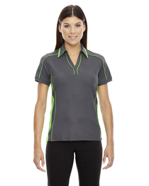 North End Ladies' Sonic Performance Polyester Piqué Polo