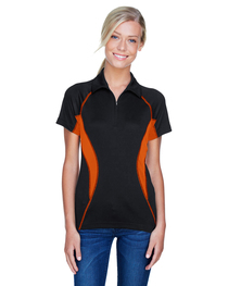 North End Ladies' Serac UTK cool logik™ Zippered Polo