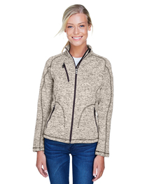 North End Ladies' Peak Sweater Fleece Jacket