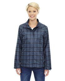North End Ladies' Locale Lightweight City Plaid Jacket
