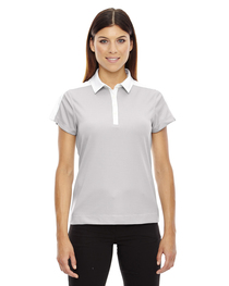 North End Ladies' Symmetry UTK cool logik™ Coffee Polo