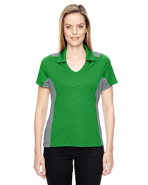 North End Ladies' Reflex UTK cool logik™ Embossed Polo