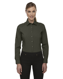 North End Ladies' Rejuvenate Shirt  Roll-Up Sleeves
