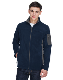 North End Men's Microfleece Jacket
