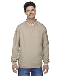 North End Adult V-Neck Unlined Wind Shirt
