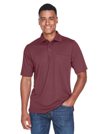 Core 365 Men's Origin Performance Piqué Polo with Pocket