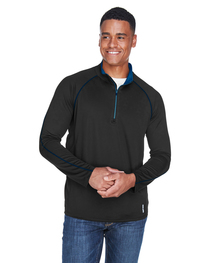 North End Men's Radar Quarter-Zip Long-Sleeve Top