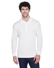 Core 365 Men's Long-Sleeve Piqué Polo