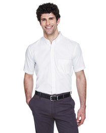 Core 365 Men's Optimum Short-Sleeve Twill Shirt