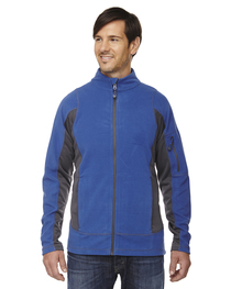North End Men's Generate Textured Fleece Jacket