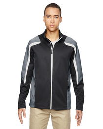 North End Men's Strike Colorblock Fleece Jacket