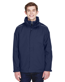 Core 365 Men's Tall Region 3-in-1 Jacket with Fleece Liner