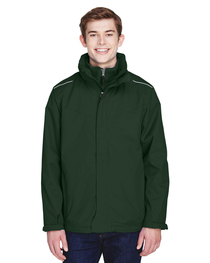Core 365 Men's Region 3-in-1 Jacket with Fleece Liner