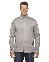 North End Men's Trace Printed Fleece Jacket